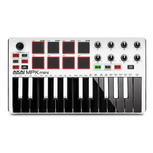 Akai MPK Mini MKII LE White